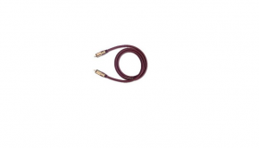 Oehlbach NF Sub Subwoofer Cinch-Kabel bordeaux 2.00 m